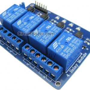 5V 4 Channel Relay Module For Arduino PIC ARM AVR