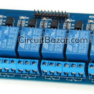 DC 5V 8 Channel Relay Module Shield With Optocoupler for Arduino PIC AVR MCU ARM