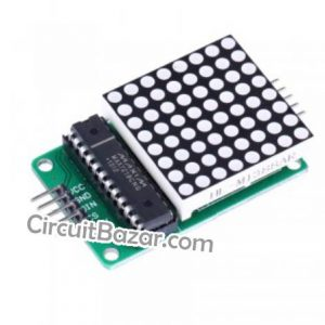 MAX7219 Dot Led Matrix Module 8*8 MCU LED Display Control Module For Arduino 5V Interface