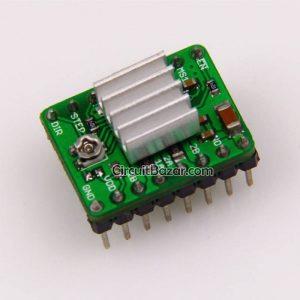 A4988 StepStick Stepper Driver + Heat sink For Reprap 3D Printer, CNC, Arduino, PIC, MCU