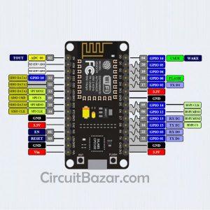 NodeMcu v2 Lua ESP8266 WIFI IoT Development Board CP2102