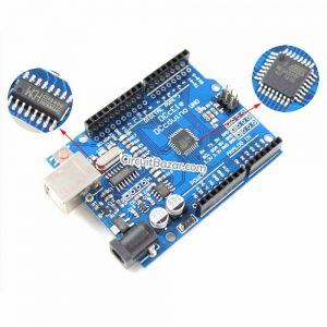 UNO R3 CH340G+MEGA328P SMD Arduino 16Mhz Development board in Pakistan