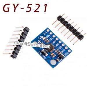 GY-521 MPU6050 Module 3 Axis Gyroscope Accelerometer Module in Pakistan