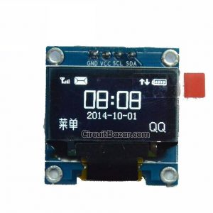 0.96 oled display Blue I2C Serial 128×64 OLED LCD LED ssd1309 0.91 inch oled display Module for Arduino Raspberry Pi Display