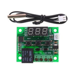 W1209 DC 12V heat cool temp thermostat temperature control switch temperature controller with display