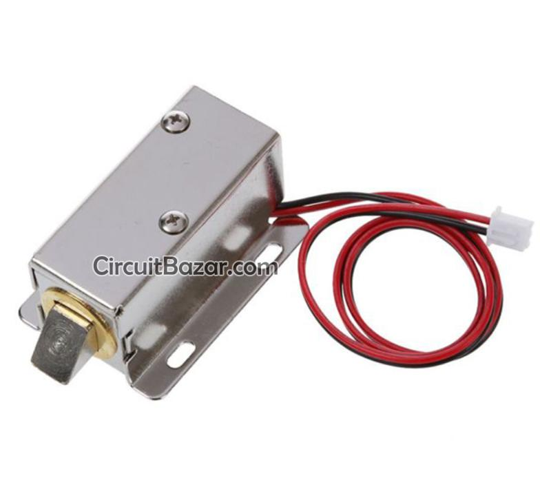 12v Dc 0 43a Cabinet Drawer Electric Door Lock Assembly Solenoid Lock Wholesale Store Chip Automation Traders