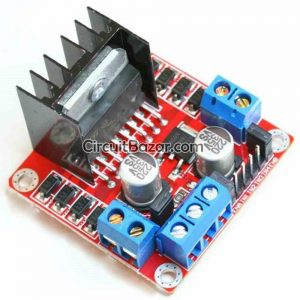 L298 L298N L298D Motor Driver Module
