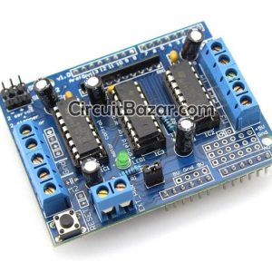 L293D Motor Driver Module for DC, Stepper or Servo Motors for Arduino, AVR, PIC