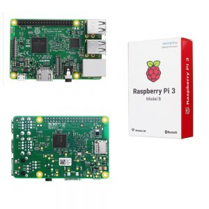 Raspberry Pi 3 Model B+ with wireless LAN and Bluetooth