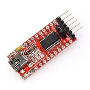 FT232RL FT232 USB To UART TTL 5V 3.3V FTDI Module & Arduino Mini Pro Programmer