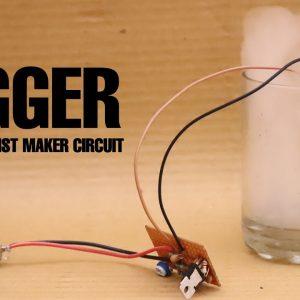 Ultrasonic Mist Maker Fogger 24V 2A with 12 Colorful LEDs