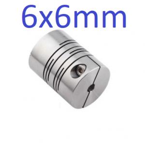 6x6mm Flexible Coupling